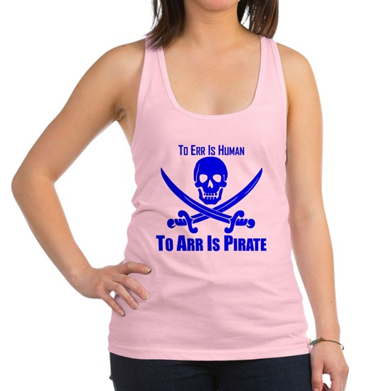 To Arr Is Pirate Blue