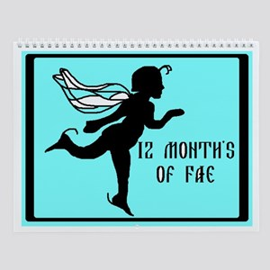 12 Month's Of Fae Wall Calendar