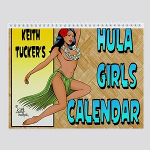 Hula Girls Calendar Wall Calendar