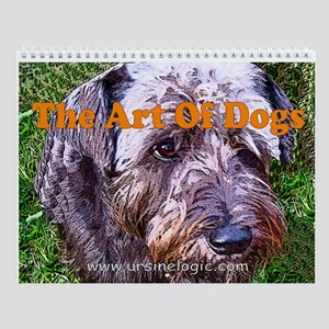Art of Dogs Wall Calendar