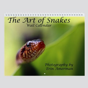 The Art Of Snakes 3 Wall Calendar