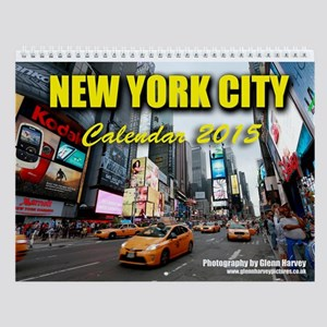 New York City 2015 Wall Calendar