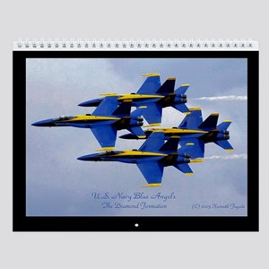 Automotive and Aviation Wall Calendar