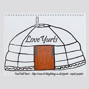 Yurts UK Wall Calendar