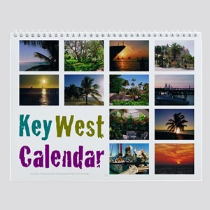 Key West Wall Calendar 11x8.5