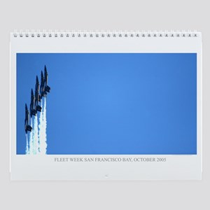 Blue Angels San Francisco Wall Calendar