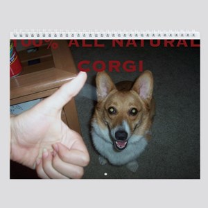 Silly Corgis Wall Calendar