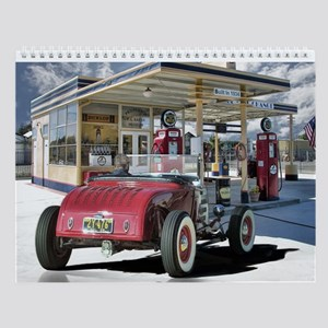 Hot Rod Wall Calendar Convertibles 2