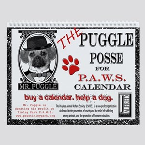 Puggle Posse for PAWS Calendar