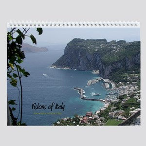 Visions of Italy Wall Calendar
