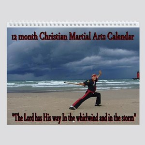 Scripture Martial Arts Wall Calendar