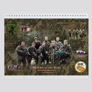 Northern Shield Paintball Team Wall Calendar