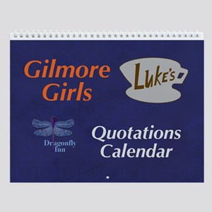 Gilmore Girls Quotes Wall Calendar
