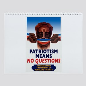 Freedom Of Thought Wall Calendar