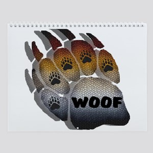 13 UNIQUE BEAR PRIDE PAWS Wall Calendar