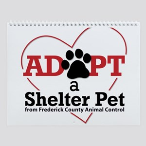 Shelter Dog Photos-FCAC Wall Calendar