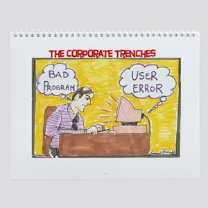 The Corporate Trenches Wall Calendar