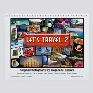 Let's Travel 2 - Wall Calendar