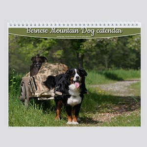 Bernese mountain dog Wall Calendar