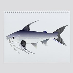 Florida Shallow Water Fishes Wall Calendar