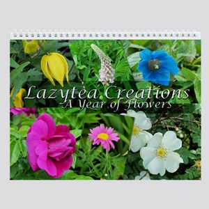 LazteaCreations Flower Wall Calendar