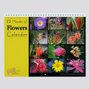 No1. Flower Wall Calendar