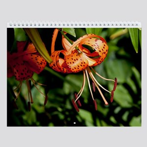 Summer Beauty Wall Calendar
