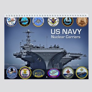 Us Navy Nuclear Carrier Fleet Wall Calendar