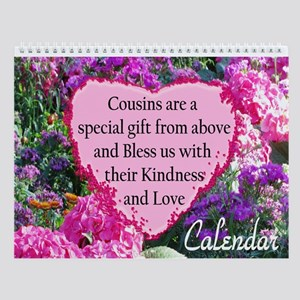 Blessed Cousin Wall Calendar