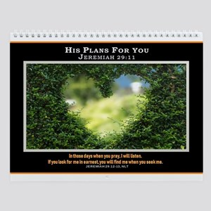 His Plans For You (7) Wall Calendar