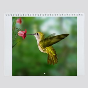 Wild Bird Photo Wall Calendar