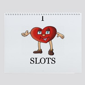 Slots Player Wall Calendar