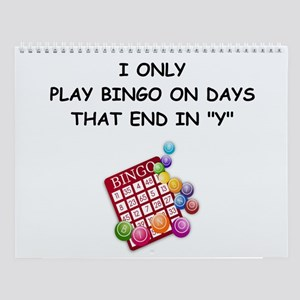 Bingo Player Wall Calendar