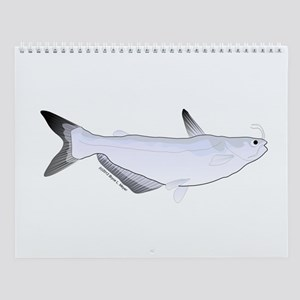 Mississippi River Native Fish Wall Calendar