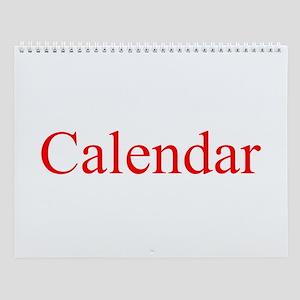 Calendar Wall Calendar