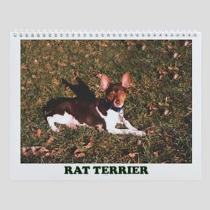 RAT TERRIER Wall Calendar
