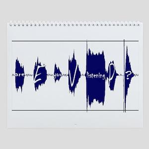 Electronic Voice Phenomena Wall Calendar