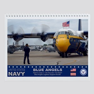 Blue Angels C-130 Hercules Wall Calendar