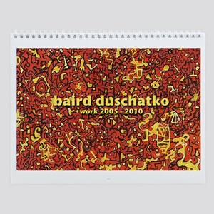 baird duschatko paintings - Wall Calendar