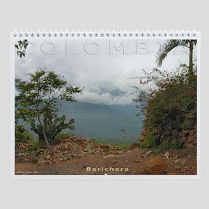 Colombia Beauty Wall Calendar