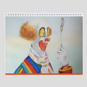 Clown Wall Calendar