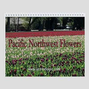 Pacific Northwest Flowers Wall Calendar