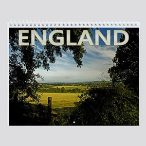 England Photo Wall Calendar