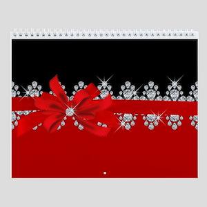 Diamond Delilah (Red) Wall Calendar