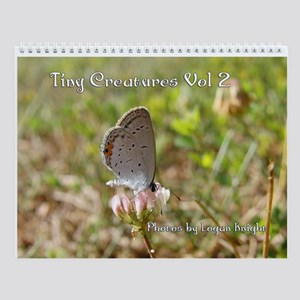 Tiny Creatures Vol 2 Wall Calendar