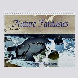 Nature Fantasies Wall Calendar