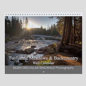 Tuolumne Meadows & Backcountry Wall Calendar