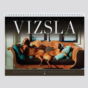 La Dolce Vizsla Wall Calendar