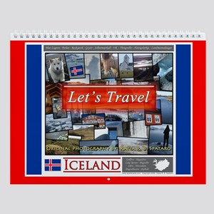 "Iceland ""Let's Travel"" Wall Calendar"