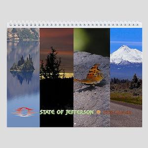 Scenic State of Jefferson Calendar